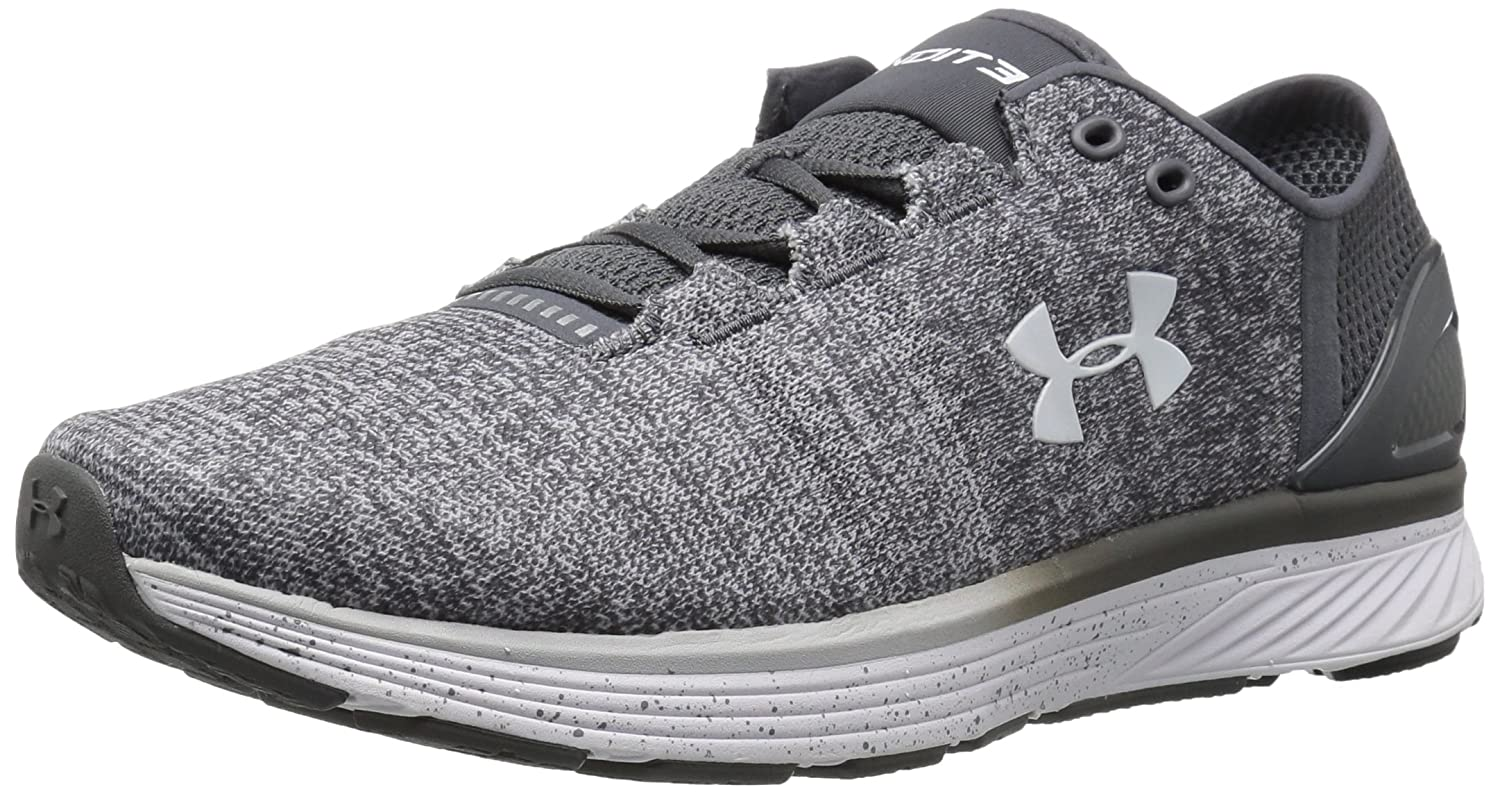 Under Armour Women's Charged Bandit 3 Running Shoe B01N2L75RW 15 M US|Glacier Gray (002)/Rhino Gray