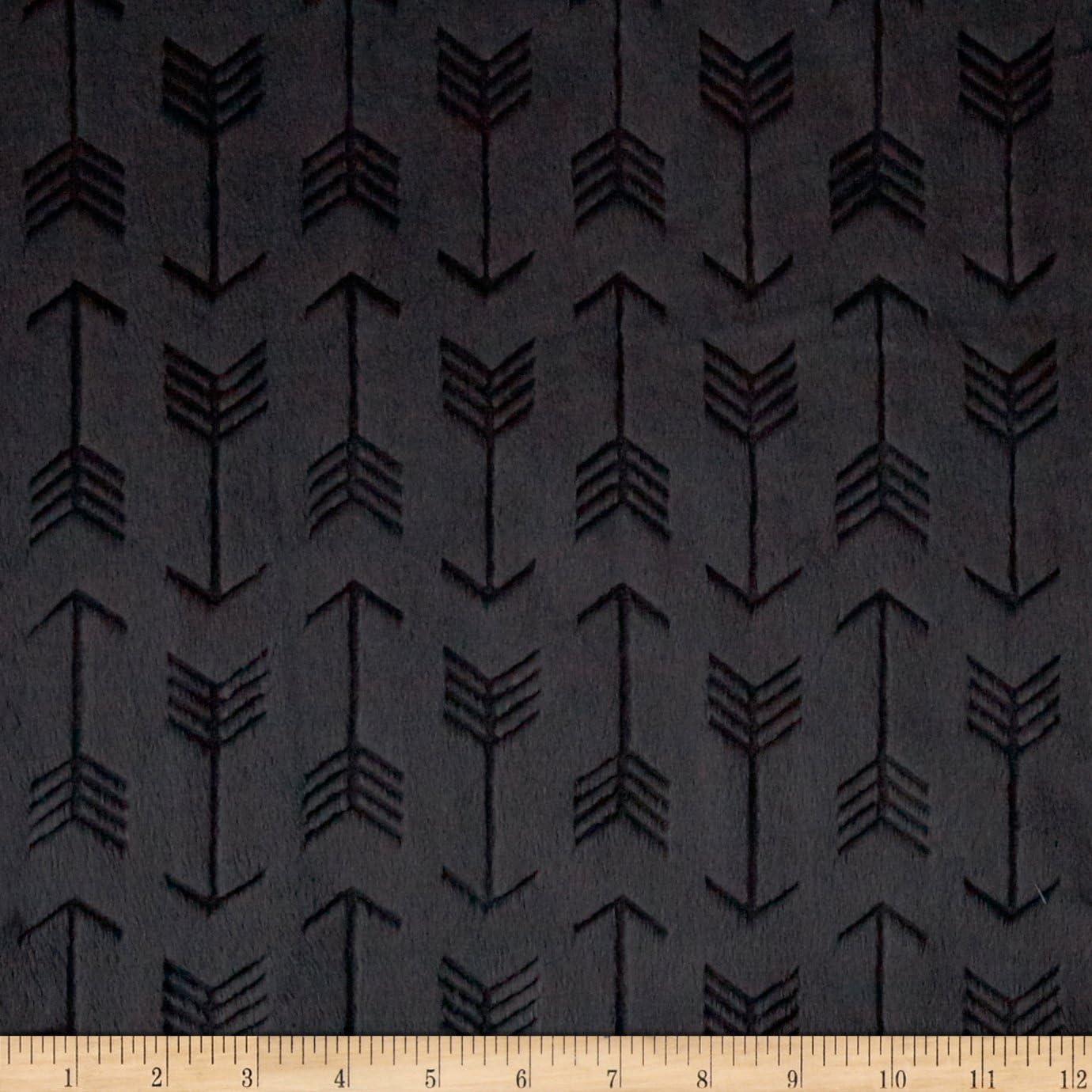 MINKY Premier Favo in Ivory /& Black Cuddle Minky from Shannon Fabrics
