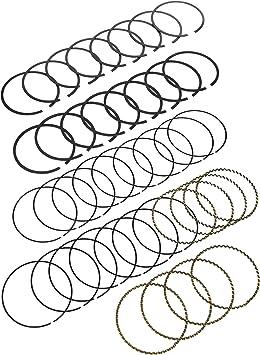 Hastings 5673040 4-Cylinder Piston Ring Set