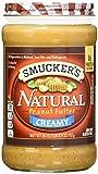 Smucker's Natural Creamy Peanut Butter, 26-Ounce