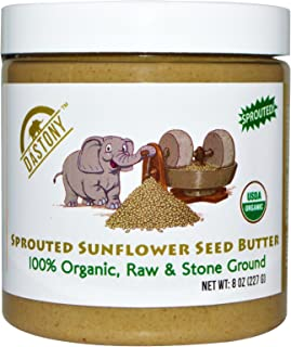 product image for DASTONY SUNFLOWER SEED BUTTER SPROUTED OG, 8 OZ