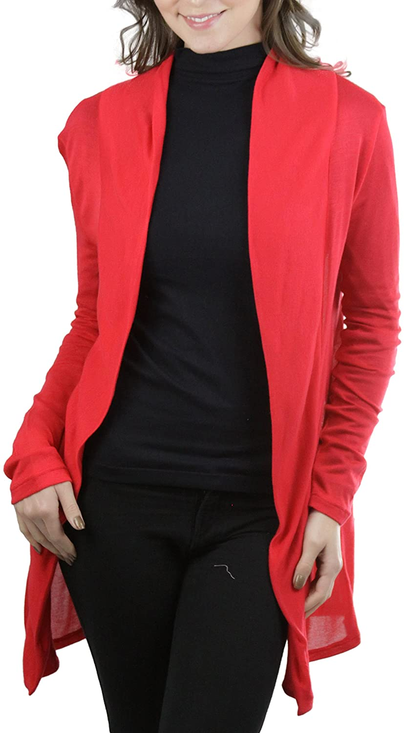 ToBeInStyle Women's Classic Open Front Cardigan