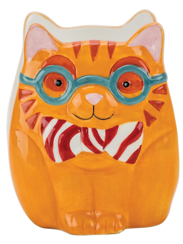 Boston Warehouse 32969 Artsy Grey Owl Napkin Holder,