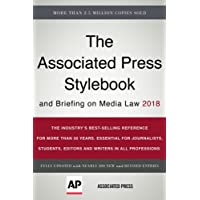The Associated Press Stylebook 2018: and Briefing on Media Law