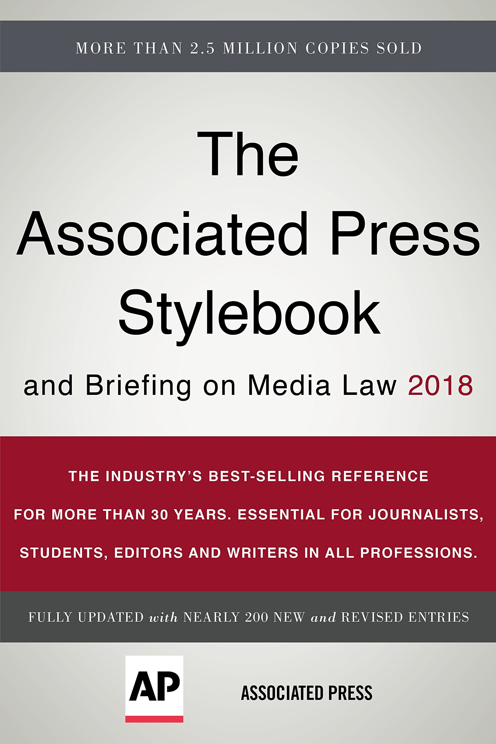 The associated press stylebook 2018 and briefing on media law the associated press stylebook 2018 and briefing on media law associated press stylebook and briefing on media law associated press 9781541672383 fandeluxe Choice Image
