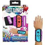 Just Dance 2019 - Dance Band - JoyCon Nintendo Switch Controller Polsino - Cinturino elastico regolabile con spazio per Joy-Cons a sinistra o a destra