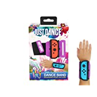 Just Dance 2019 - Dance Band - JoyCon Nintendo Switch controller cuff - Adjustable elastic strap with space for Joy-Cons left or right