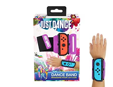Subsonic Just Dance 2019 , Dance Band , Brassard pour manette JoyCon  Nintendo Switch , Bracelet