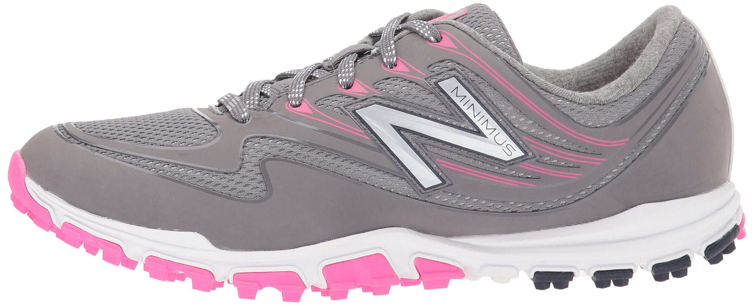 New Balance Women's Minimus Sport Golf Shoe, Pink/Grey, 7.5 B B US by New Balance (Image #5)