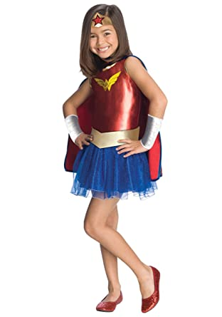 Amazon.com: Wonder Woman disfraz infantil de tutú – 2 – 4T ...