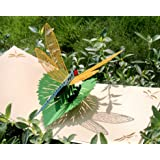 CUTPOPUP Dragonfly Card Pop Up, 3D Birthday Card Pop Up For Grandma, Mom, Mother In Law, Daughter, Niece -Ideal Gift On…