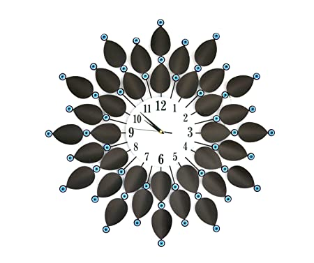 My Aashis 26 Inch European Wall Clocks Living Room Bedroom Art Large Clocks Modern Design Creative Wall Watch Home Decor