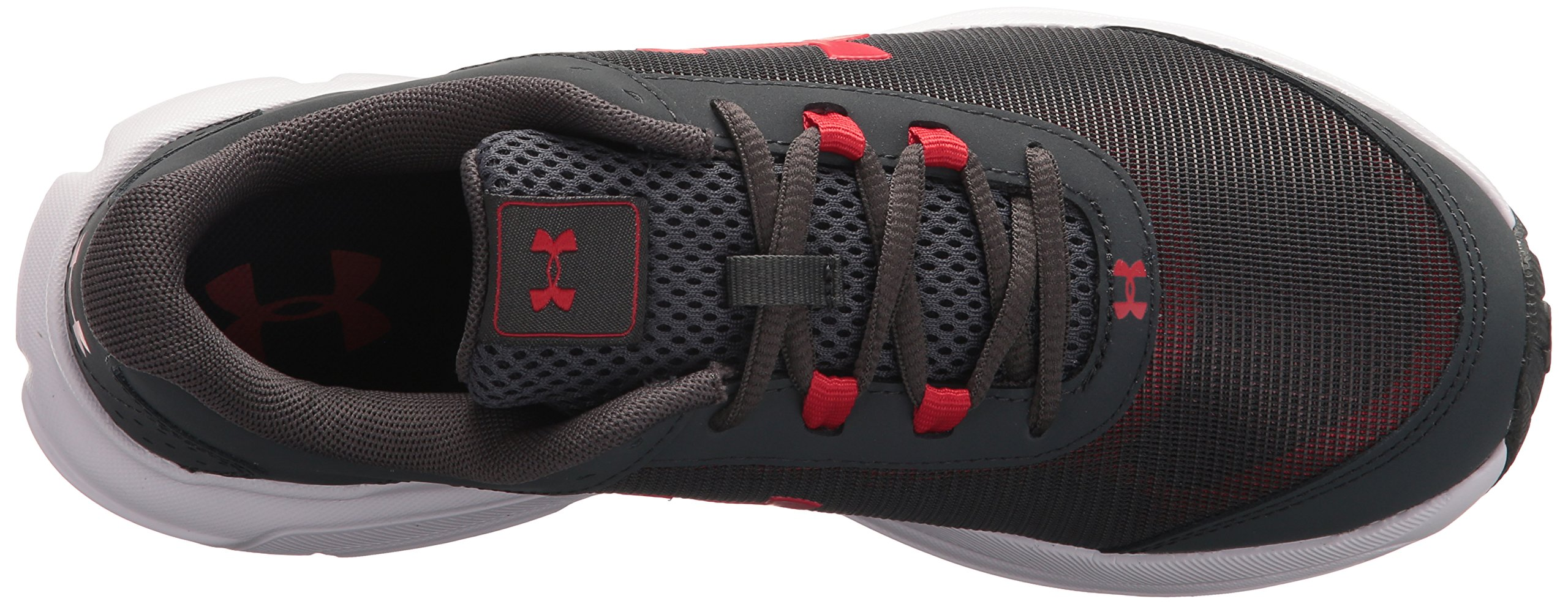 Under Armour Kids' Grade School Rave 2 Sneaker,Stealth Gray (100)/White,3.5 M US by Under Armour (Image #8)