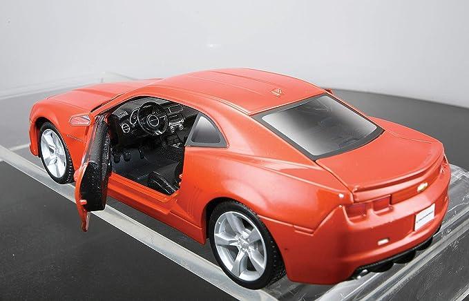 Maisto - Kit de montaje del modelo 2010 Chevrolet Camaro SS, escala 1:24 (39207): Amazon.es: Juguetes y juegos