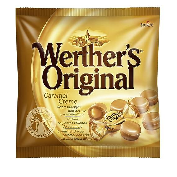 Werthers Original Toffee Duro de Mantequilla y Nata Fresca - 135 gr ...