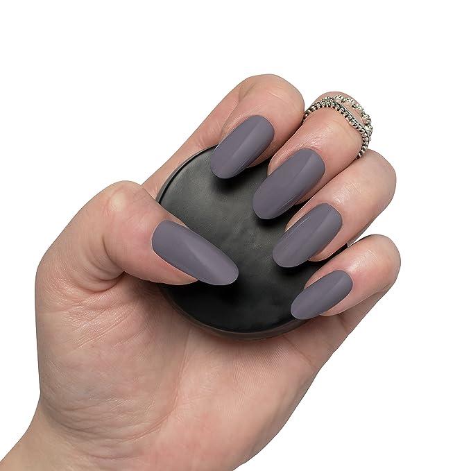 600 piezas de largo Oval clavos 10 tamaños - falso uñas Consejos largo full, Natural opaco acrílico uñas postizas para uñas de estética y - libre de ...