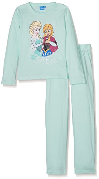 Disney El reino del hielo Chicas Pijama - púrpura: Amazon.es: Ropa y accesorios