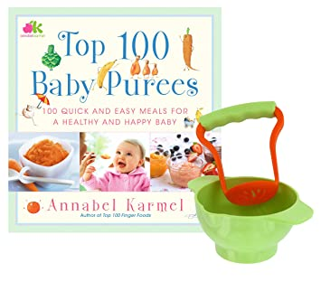 Top 100 baby purees recipe book with crush eat food making bowl top 100 baby purees recipe book with crush eat food making bowl forumfinder Image collections