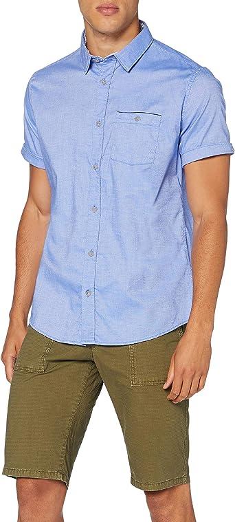Springfield Daily Dobby Franquicias-C/12, Camisa casual Hombre: Amazon.es: Ropa y accesorios
