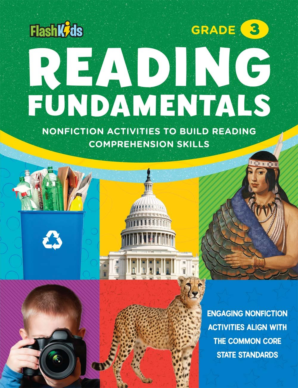 Reading Fundamentals: Grade 3: Nonfiction Activities to Build Reading Comprehension Skills (Flash Kids Fundamentals) PDF