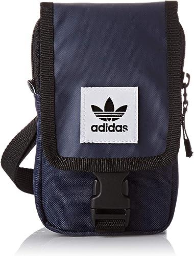 Aburrir papel veinte  adidas Map Bag, Bolso bandolera Unisex Adultos, Azul (Maruni), 24x15x45 cm  (W x H x L): Amazon.es: Zapatos y complementos