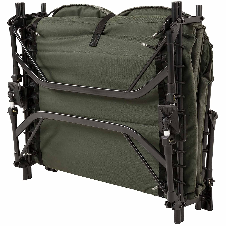 JRC Defender Wide Levelbed Bedchair Green
