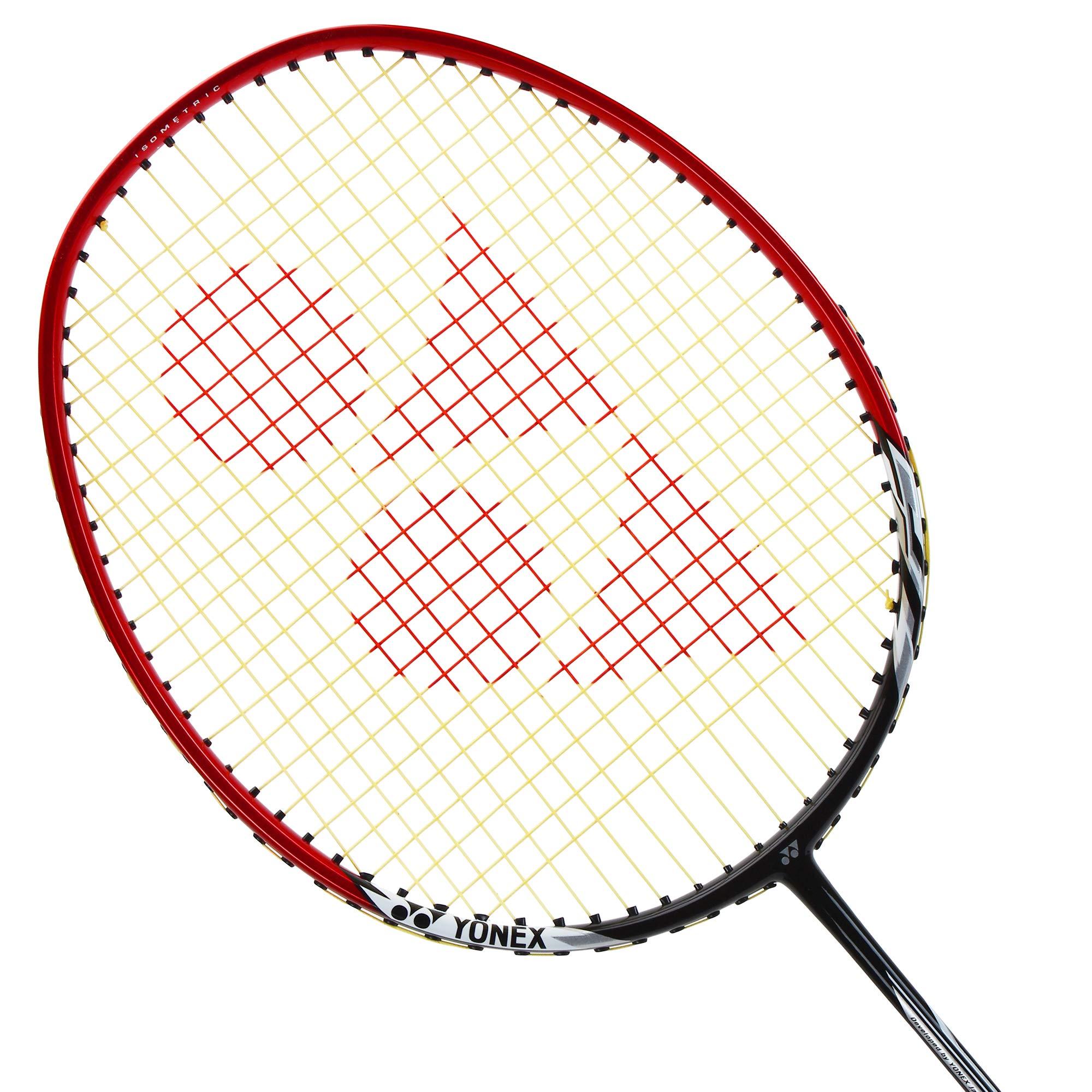 Yonex Nanoray 6000I G4-U Badminton Racquet Red by Yonex (Image #2)