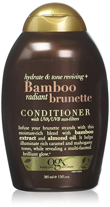 ec761e7ef Image Unavailable. Image not available for. Color: OGX Bamboo Radiant  Brunette ...