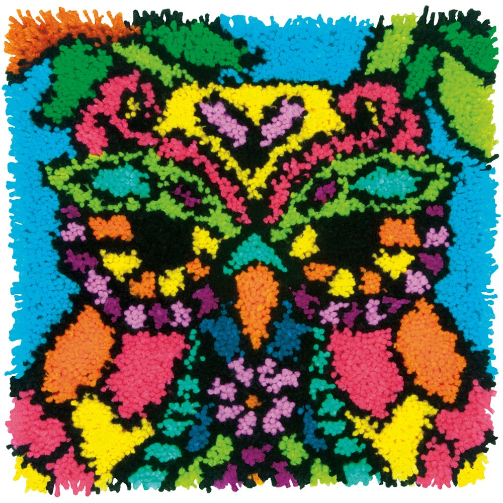 Dimensions Needlecrafts Colorful Owl Latch Hook Kit SHENGQI PAPER PRODUCTION LTD 72-75001
