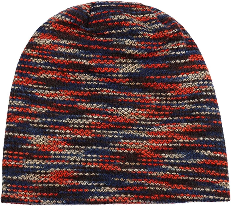 Knitted Hat Hats for Women Men Skullies Beanies Beanies Bonnet Warm Baggy Soft Thick Hat Caps