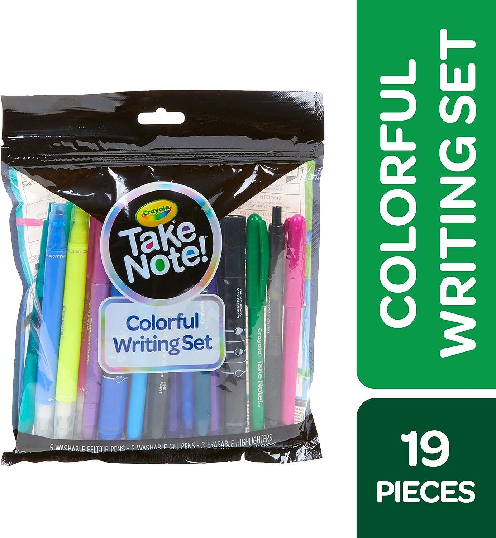 Crayola Take Note Colorful Writing Set Bullet Journal Supplies