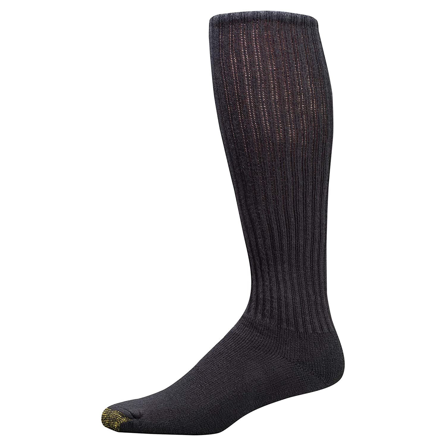 3-Pack Gold Toe Mens Cotton Over-the-Calf Athletic Socks