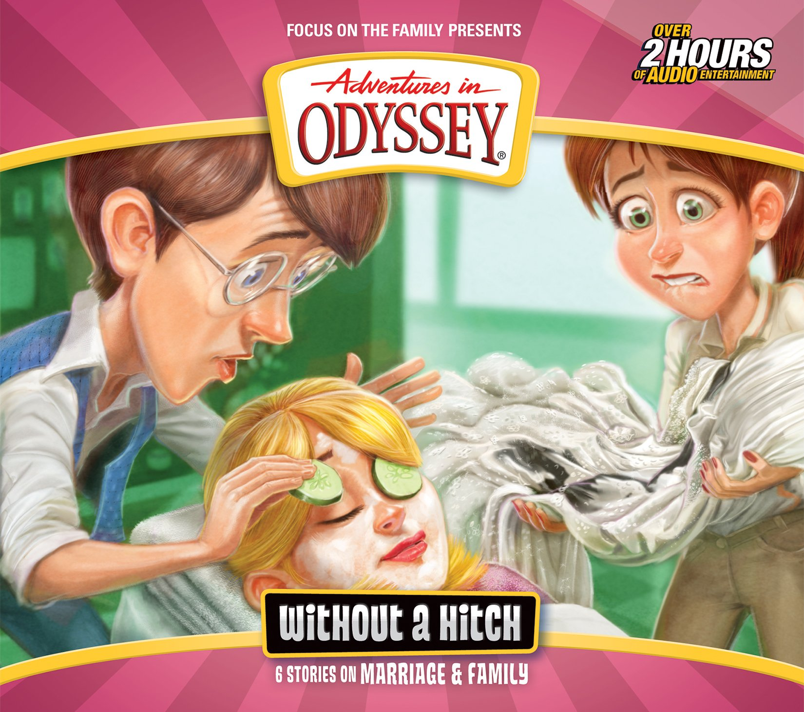 Without a Hitch: 6 Stories on Marriage & Family (Adventures in Odyssey) by Tyndale House Publishers (Image #1)