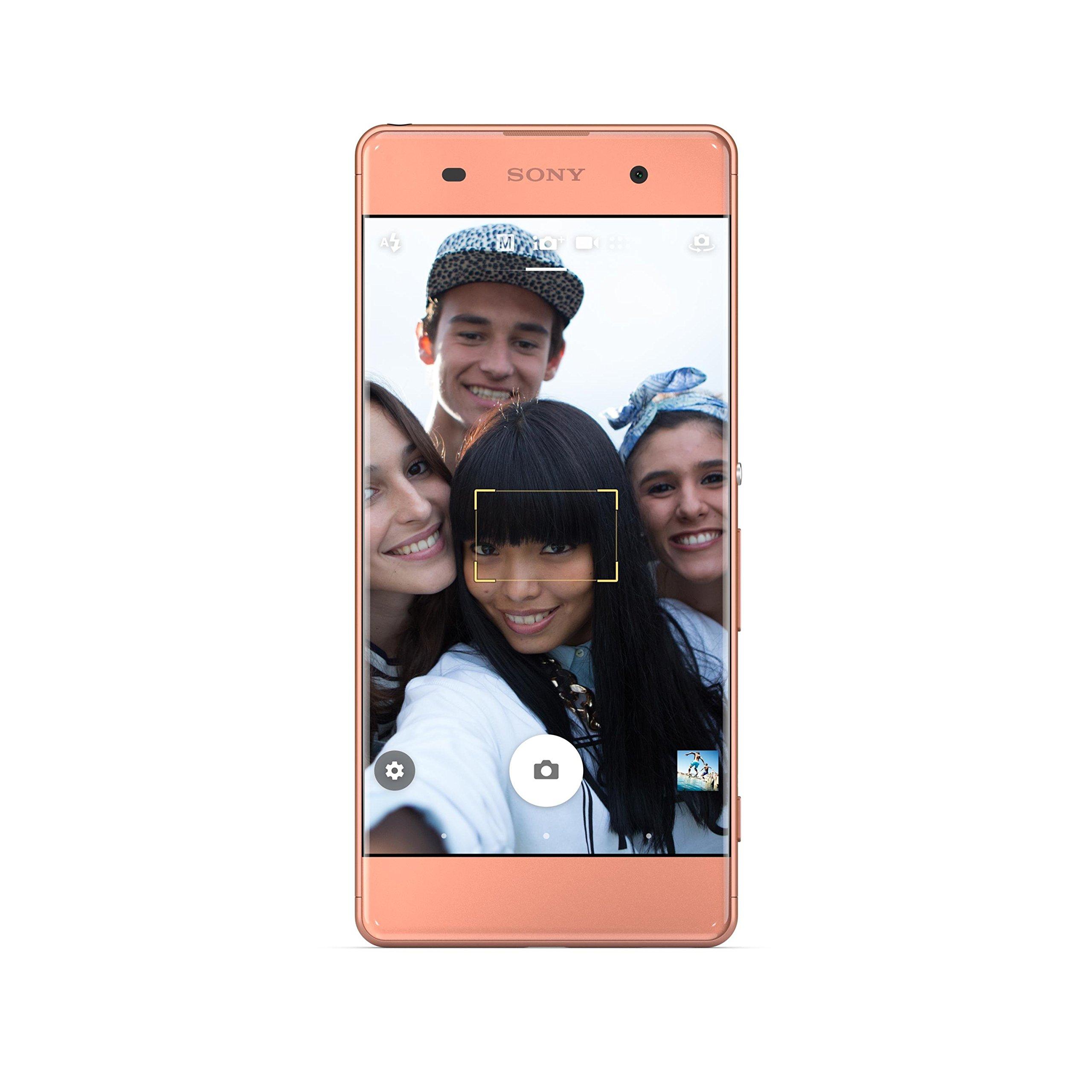 Sony Xperia XA unlocked smartphone,16GB Rose Gold (US Warranty) by Sony (Image #3)