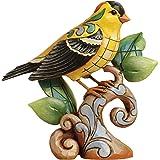 Enesco Jim Shore Heartwood Creek Goldfinch Figurine, 4.75-Inch