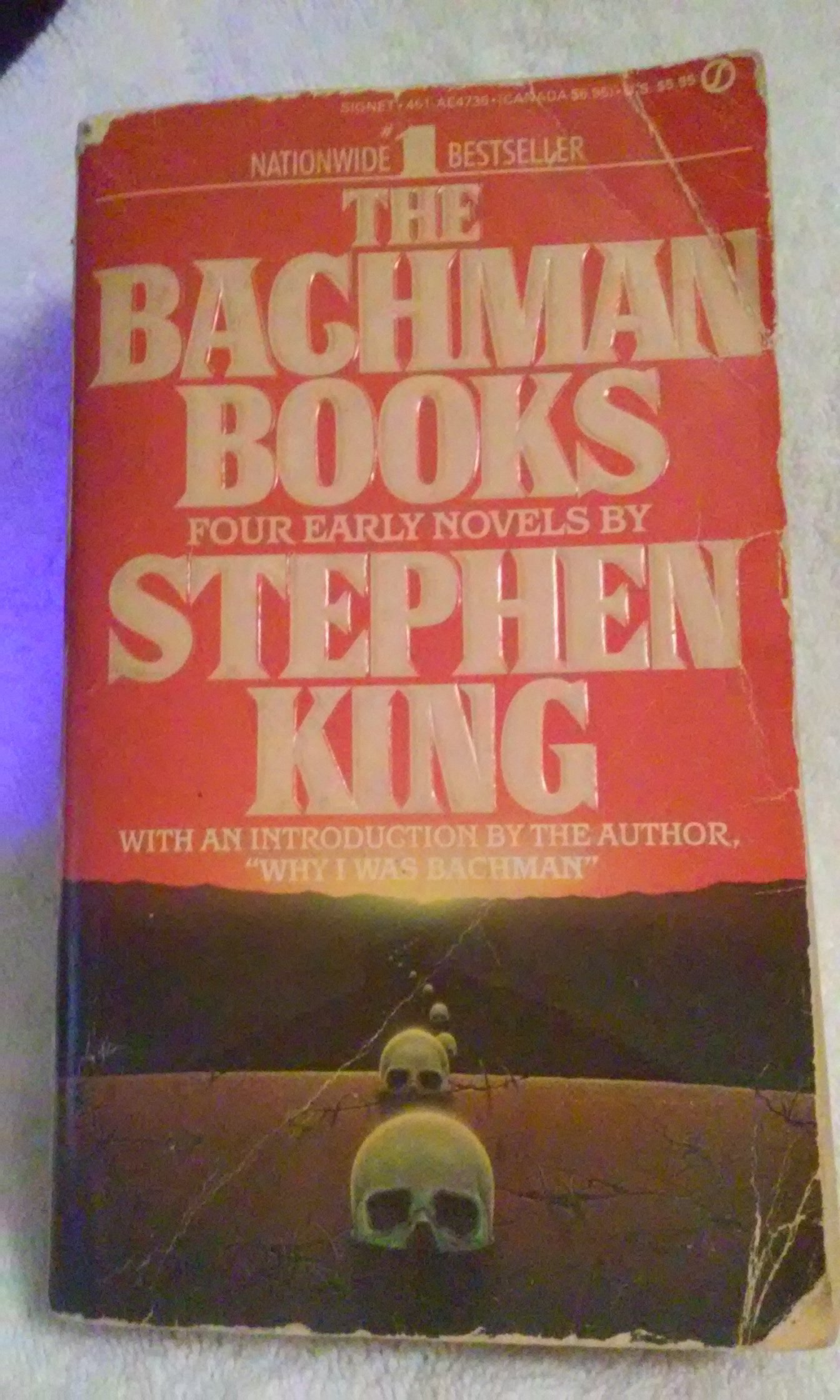The Bachman Books: Four Early Novels By Stephen King: Stephen King:  0071162006995: Amazon: Books
