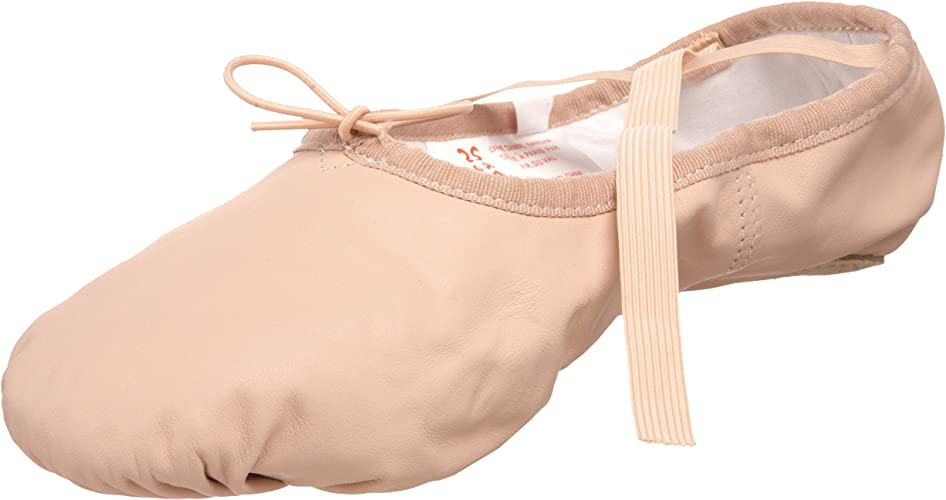5 W US Womens SANSHA Pro 1 Canvas Ballet Slipper,Black,7 W