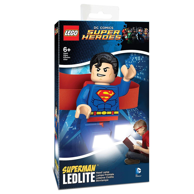 Amazon.com: LEGO DC Universe Super Heroes   Superman LED Elastic Head Lamp:  Toys U0026 Games