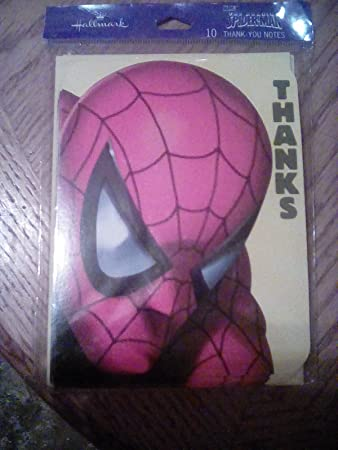 Amazon Com Spider Man Thank You Cards 10 Cards 10 Envelopes Baby