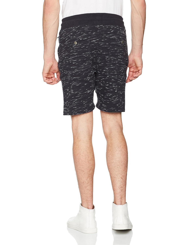 3SBEP05, Pantalones Cortos Deportivos Para Hombre, Azul, Medium Inside