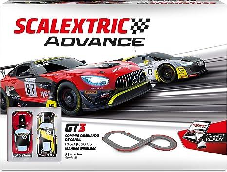 SCALEXTRIC-Circuito Advance, color, 1 (SCALE COMPETITION XTREE: Amazon.es:  Juguetes y juegos