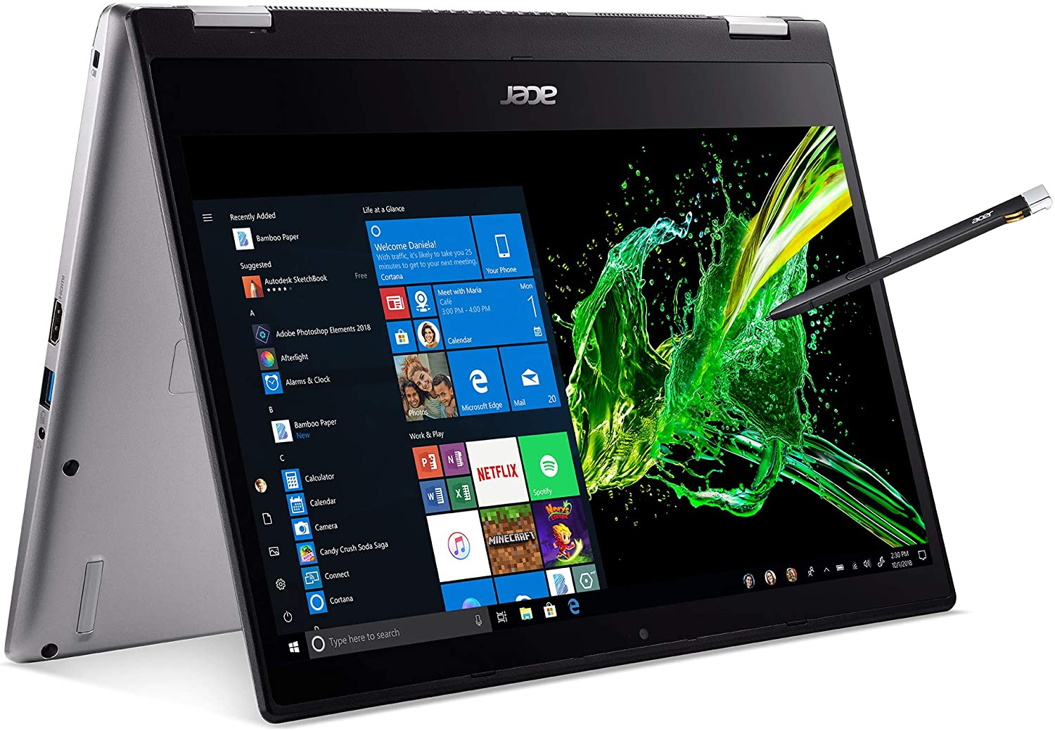 10% off deal on 8th Gen i7 Acer Spin 3 with Active Stylus