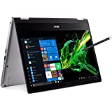 Acer Spin 3 Convertible Laptop, 14 inches Full HD IPS Touch, 8th Gen Intel Core i7-8565U, 16GB DDR4, 512GB PCIe NVMe SSD, Bac