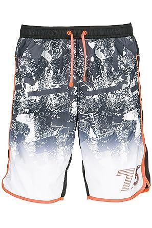 f59c98872f783 Emporio Armani EA7 Men's Shorts Swimsuit Bathing Trunks Swimming Suit Black  UK Size 48 (UK