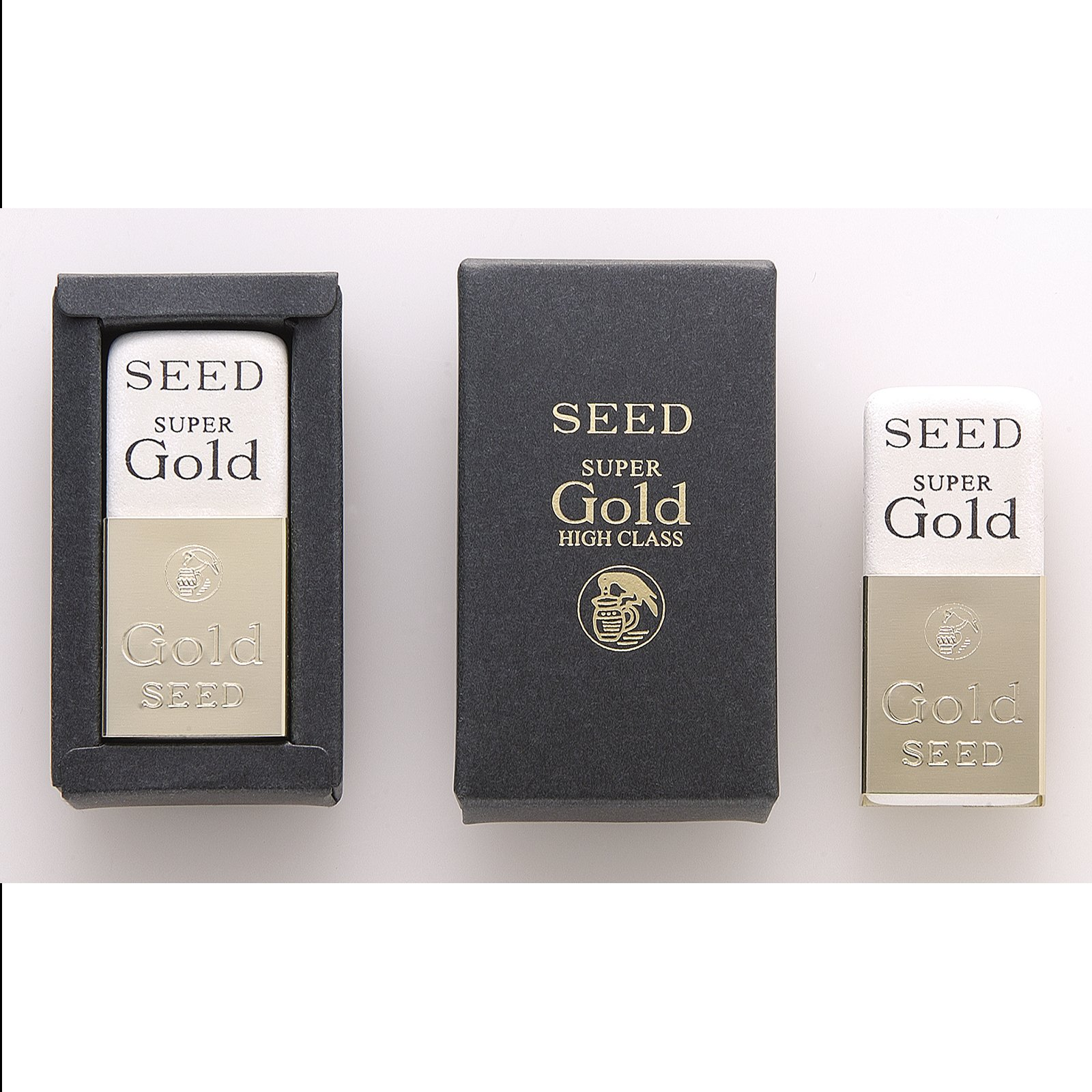 Seed high quality eraser Super Gold ER-M01-10P 10 pieces by SEED (Image #5)