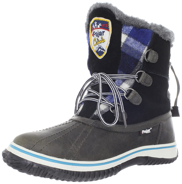 Dark Grey Black Pajar Women's Iceberg Snow Boots