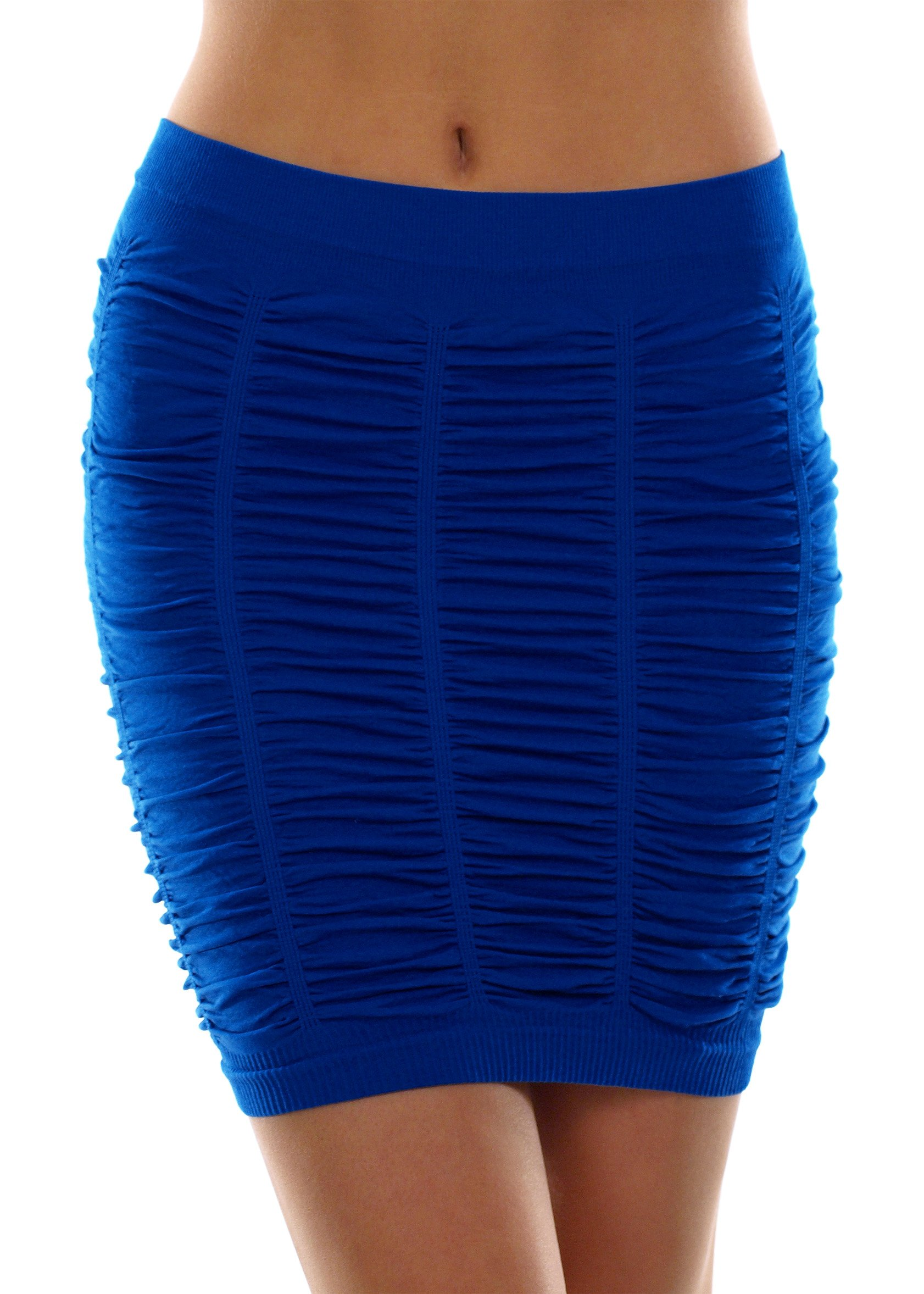 AFC Ruffled Stretch Fit Skirt Size M/L Royal