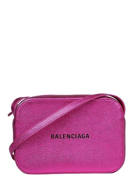 Balenciaga Mujer 55237000R2n5560 Rosa Cuero Bolso De Hombro  Amazon.es   Ropa y accesorios dff65323e828