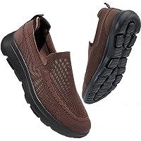 konhill Zapatillas Casual para Hombre Sin Cordones Calzado de Walking Deportivo Bajas de Ligerasy Transpirables Zapatos…