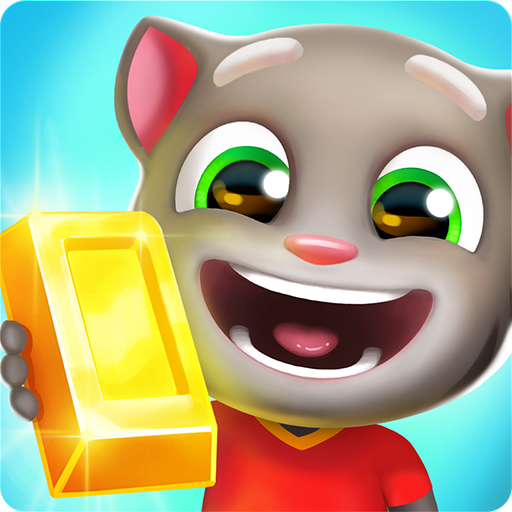 Talking Tom Gold Run (Best Home Building App)